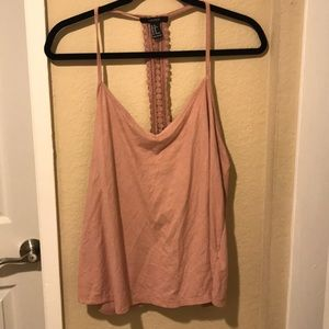 Forever 21 Blush Pink Top (Size XL)